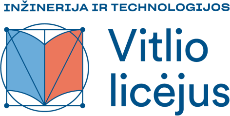 Vitlio licėjaus logo