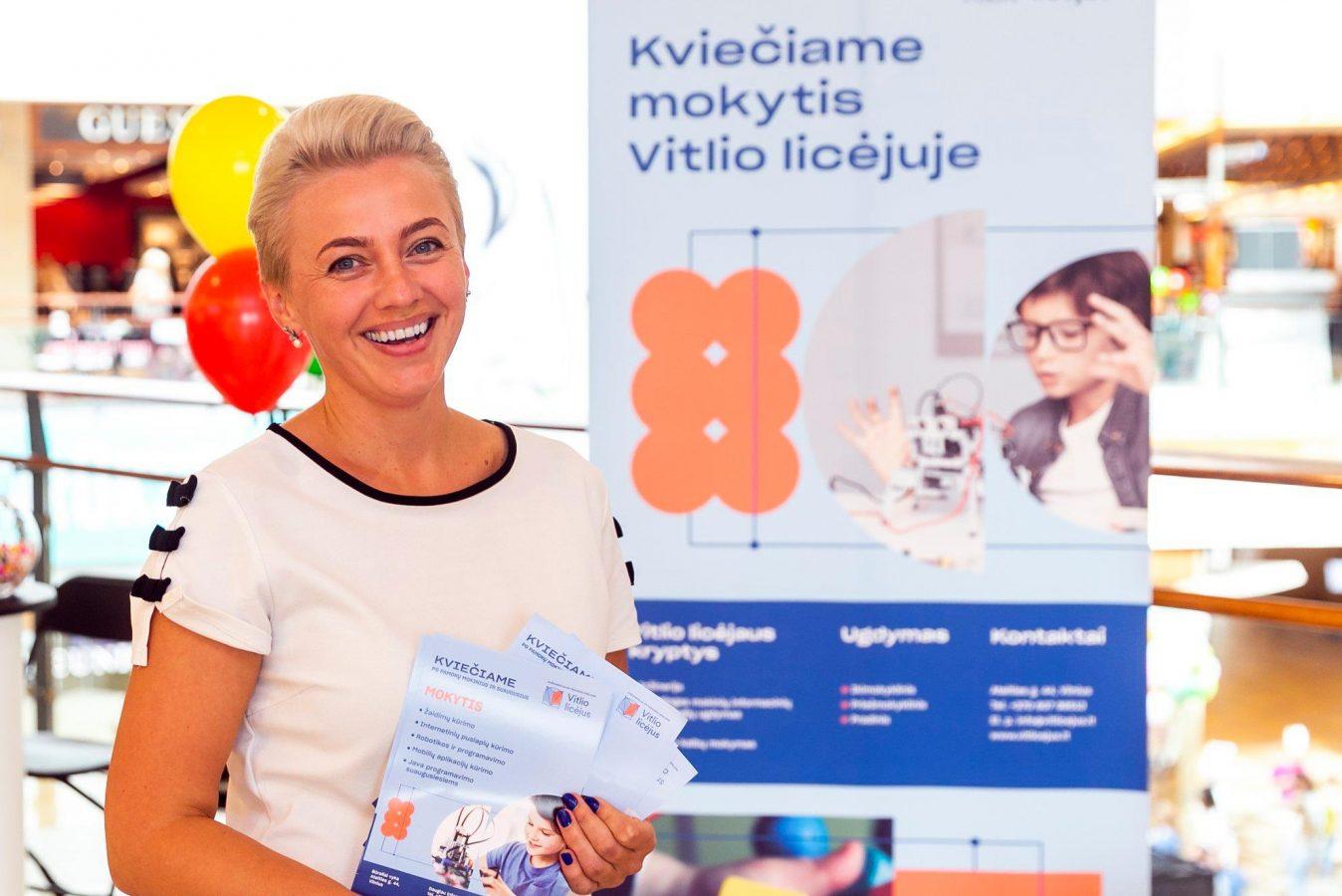 Jovita Ponomariovienė, The head of school